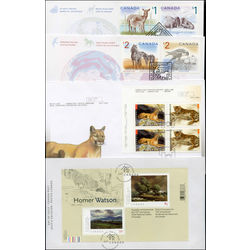canada first day covers 2005