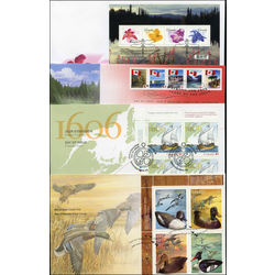 Canada first day covers 2006