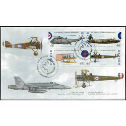canada stamp 1808 canadian air forces 1924 1999 1999 FDC 004