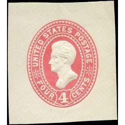 us stamp u postal stationery u324 jackson 4 1887