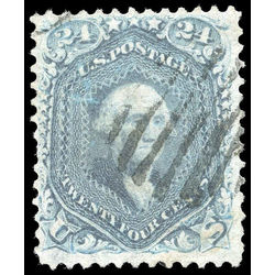 us stamp postage issues 70b washington 24 1861
