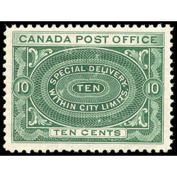 Canada stamp e special delivery e1a special delivery stamps 10 1898 m vfnh 002