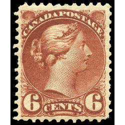 canada stamp 43 queen victoria 6 1888 m vf 005