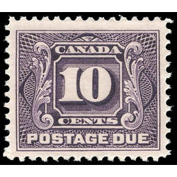 canada stamp j postage due j5 first postage due issue 10 1928 m vfnh 002