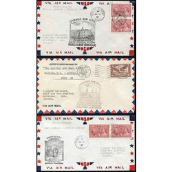 canada first flight covers of 1935 1938