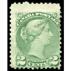canada stamp 36vi queen victoria 2 1872 m vg ng 001