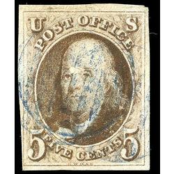 Us Stamp Postage Issues 1a Benjamin Franklin 5 1847 U 001