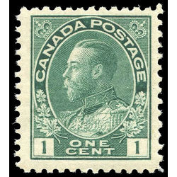 canada stamp 104e king george v 1 1915