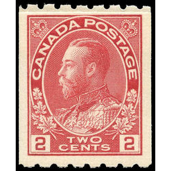 canada stamp 124i king george v 1913 single vf 004