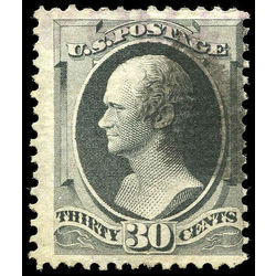 us stamp postage issues 143 alexander hamilton 30 1870 u 001