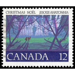 canada stamp 742t1 angelic choir 12 1977
