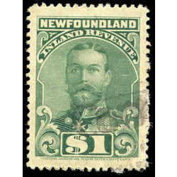 canada revenue stamp nfr20b king george v 1 1910