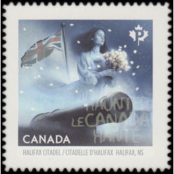 canada stamp 2863i gray lady of the halifax citadel halifax ns 2015