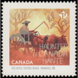 canada stamp 2864i red river trail oxcart winnipeg mb 2015
