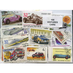 cars on stamps