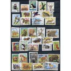 animals on stamps complete sets