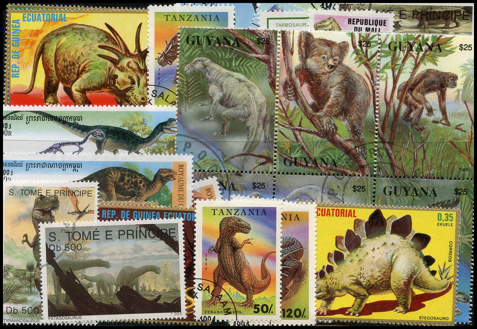 Buy Dinosaurs Amp Prehistoric Animals On Stamps Arpin