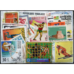 olympics on stamps