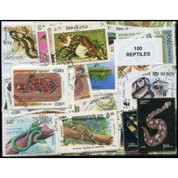 reptiles on stamps