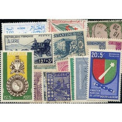 algeria stamp packet