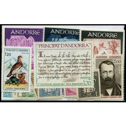 andorra stamp packet