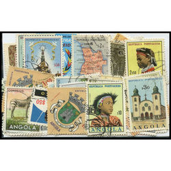 angola stamp packet