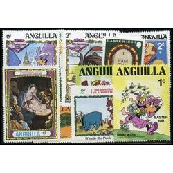 anguilla stamp packet