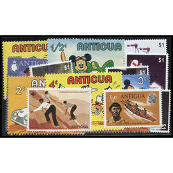antigua barbuda stamp packet