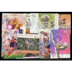 australia stamp packet