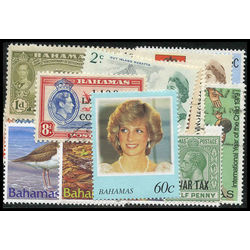 bahamas stamp packet
