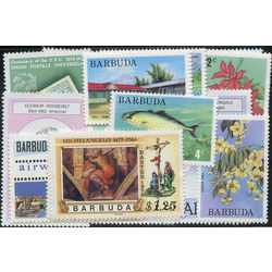 barbuda stamp packet