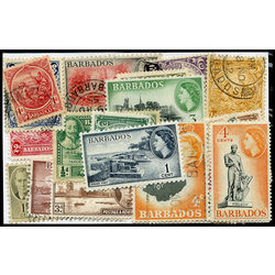 barbados stamp packet