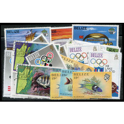 belize stamp packet