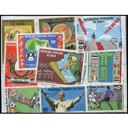 benin stamp packet