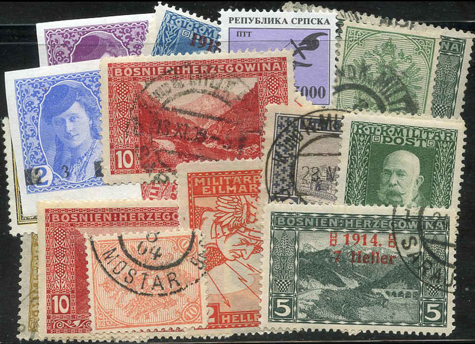 Buy Bosnia-Herzegovina - Stamp Packet Arpin Philately