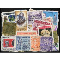 bolivia stamp packet