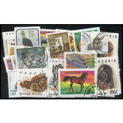 british africa stamp packet
