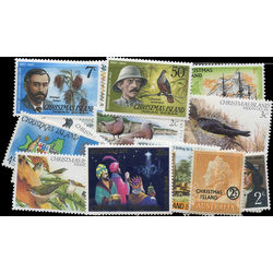 christmas island stamp packet