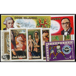 cook islands stamp packet