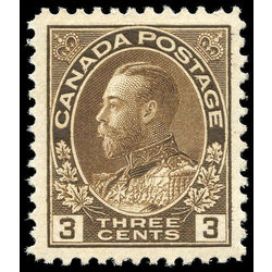canada stamp 108 king george v 3 1918