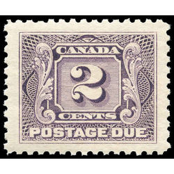 canada stamp j postage due j2 first postage due issue 2 1906