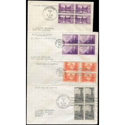 united states early first day covers 1934