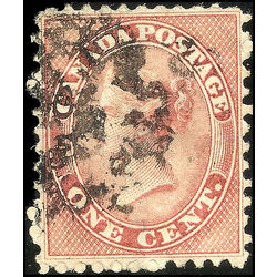 canada stamp 14 queen victoria 1 1859 u vf 007