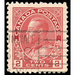 canada stamp 106ix king george v 2 1911 u vf 002