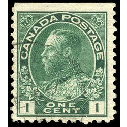 canada stamp 104ais king george v 1 1913