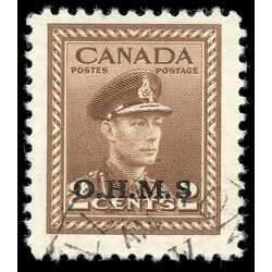 canada stamp o official o2a king george vi 2 1949 u f 001