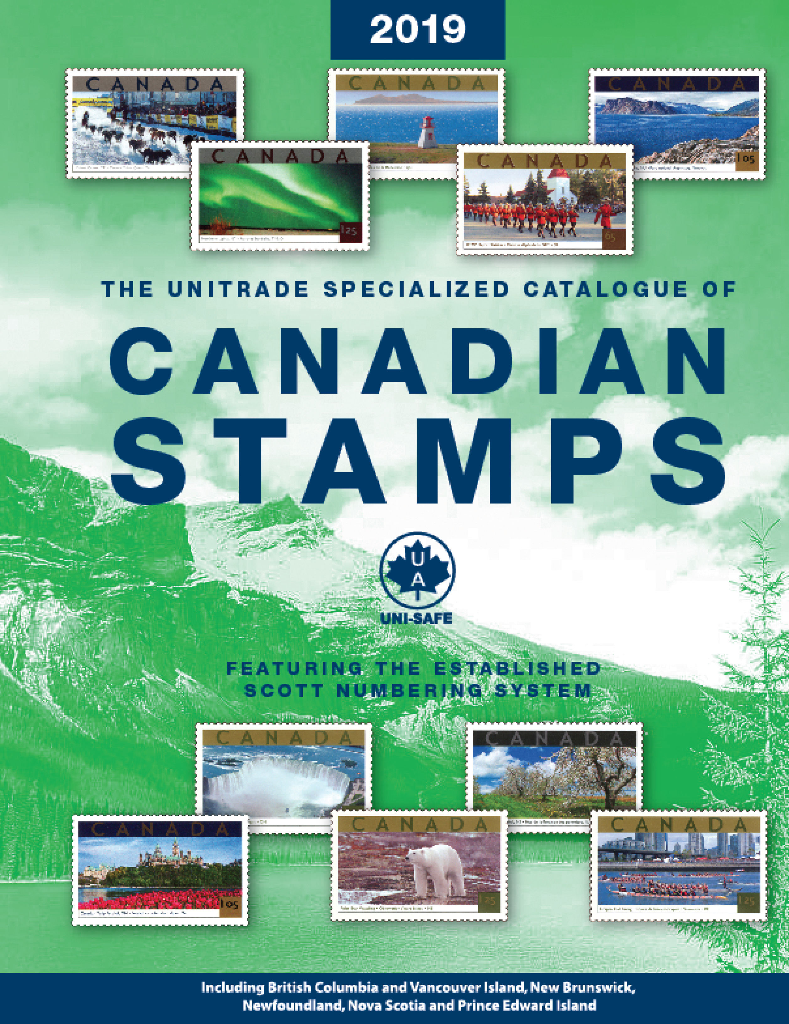 Buy The Unitrade Specialized Catalogue of Canadian Stamps ...