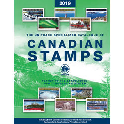 the unitrade specialized catalogue of canadian stamps 2019