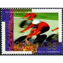 canada stamp 1522 cycling 88 1994