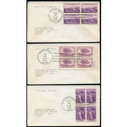 united states scarce first day covers